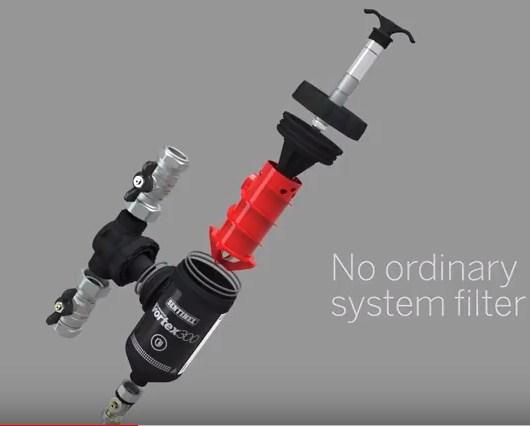 Filtru Sentinel Eliminator Vortex 500 componente