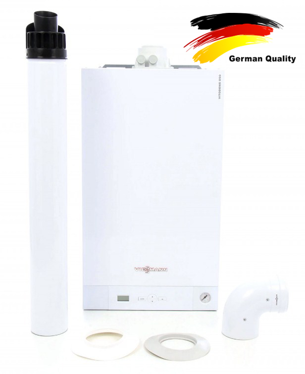 Centrala termica in condensare viessmann vitodens 050 pachet complet
