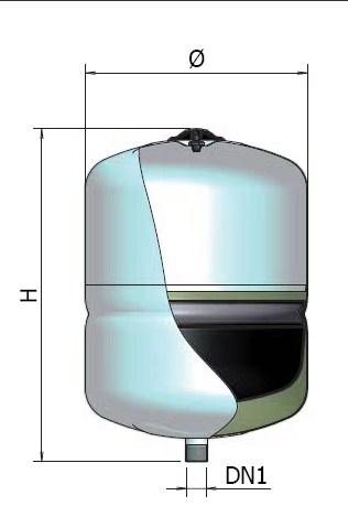 vas de expansiune sanitar 8 l