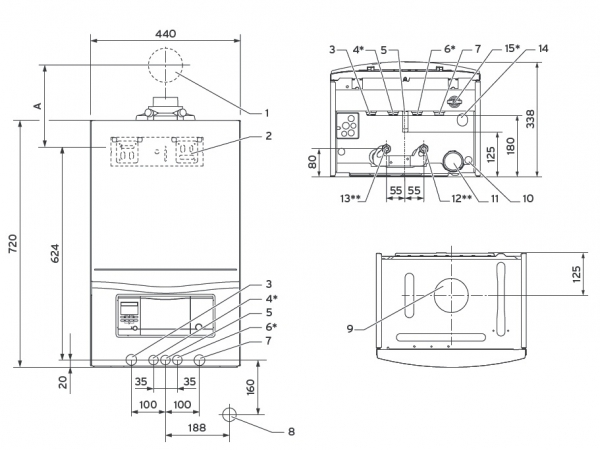 schema montaj centrala ecotec pro 236/5-3