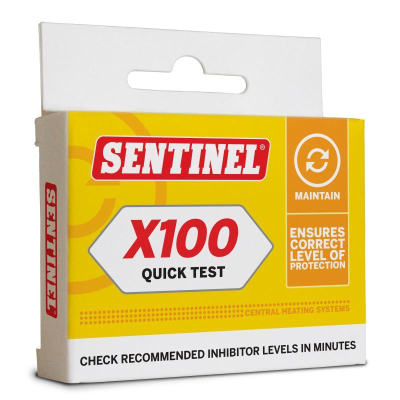 Sentinel X100 Quick Test
