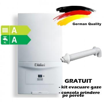 Centrala termica in condensatie VAILLANT ecoTEC pure VUW 286/7-2, 26,1 kW - Incalzire + A.C.M. cu Montaj  si Autorizare ISCIR