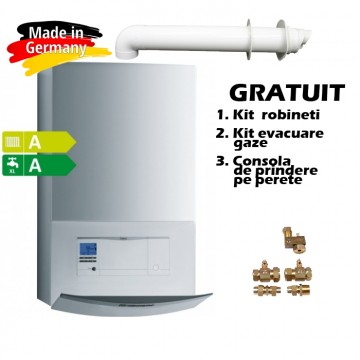 Centrala termica in condensatie VAILLANT ecoTEC plus VUI INT II 306/5-5, 26,5 kW - boiler incorporat 20 litri cu Montaj si Autorizare ISCIR