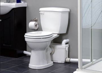Poza pompa sanipro xr silence racordare wc, lavoar, dus si bideu