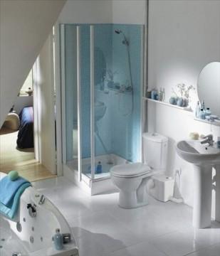Poza pompa saniplus silence racordare wc, lavoar, dus si bideu