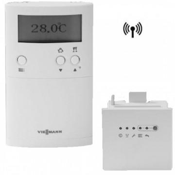 poza Termostat de ambient programabil wireless Viessmann Vitotrol 100 UTDB-RF2
