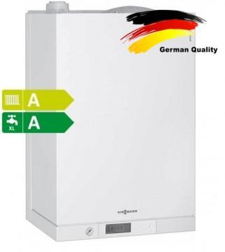 poza Centrala termica Viessmann Vitodens 111-W -cu boiler incorporat 46 l - 35 KW, TF