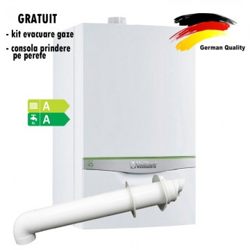 poza Centrala termica in condensatie VAILLANT green IQ ecoTEC exclusive VUW  356/5-7, 26,4kW - Incalzire + A.C.M.