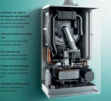 Poza ecoTEC pure componente centrala