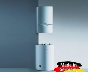 Pachet promotional centrala in condensare Vaillant VU OE 486/5-5 + boiler VIH R 150/6 + accesorii