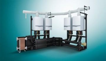 Poza Centrala in condensatie VAILLANT ecoTec plus VU OE 1006/5-5 - Incalzire- cascada cu schimbator in placi
