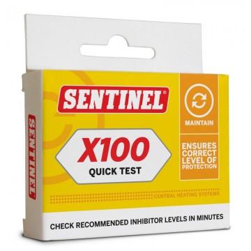 Poza Sentinel X100 Quick Test