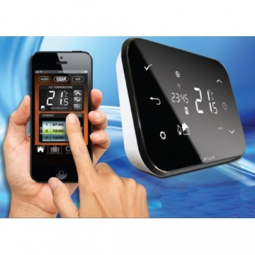 poza Termostat de ambient programabil wireless SALUS IT500 controlat prin internet